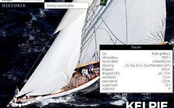 Kelpie, fot: Jachty niezwykłe