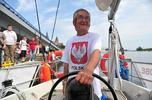 Grzegorz Węgrzyn płynie do Chile... ale statkiem!